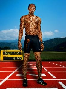 Usain Boilt & Cheetah 2