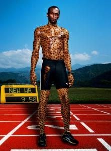 Usain Boilt & Cheetah